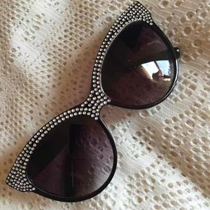 Accessories - Cat eye rhinestone sunglasses